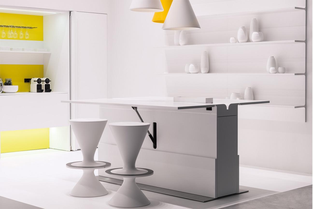 Corian Design Kuche Floo Hasenkopf