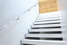 Treppenstufen aus Corian