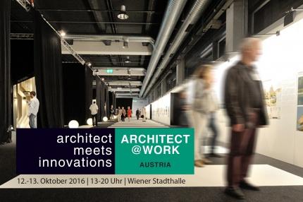 Architect at Work mit Hasenkopf in Wien