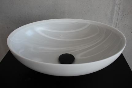 Aufsatzbecken AXO-E in Corian Gray Onyx