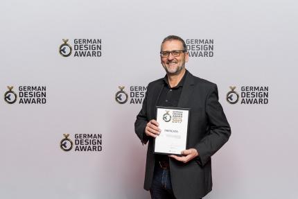 Hasenkopf gewinnt German Design Award 2017