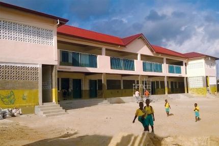 Neubau Butterfly International School Ghana