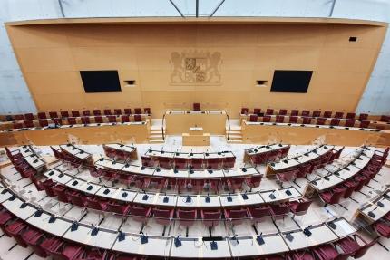 Plenarsaal im Bayerischen Landtag