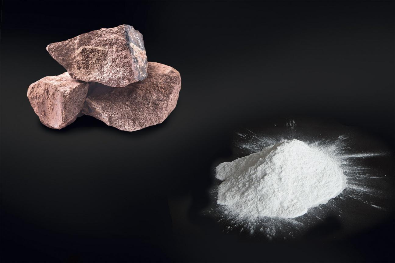 Miraklon Komponente Gesteinsmehl