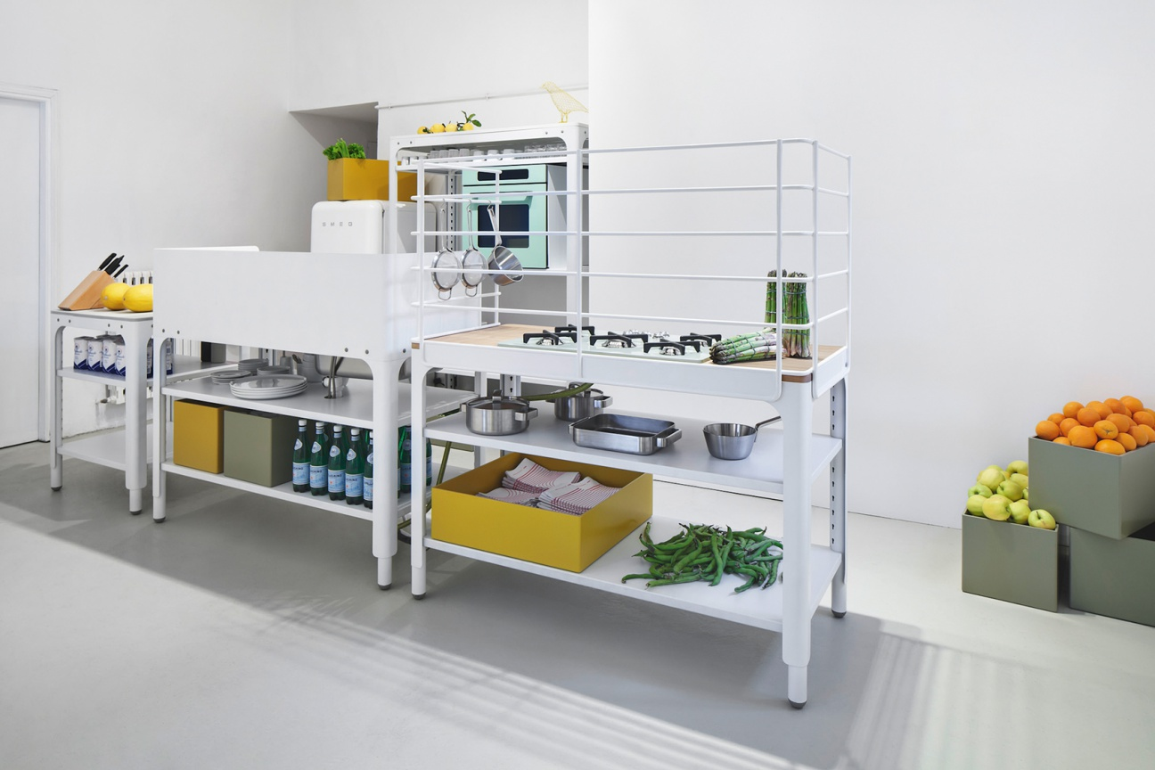 concept kitchennaber with corian desk | hasenkopf