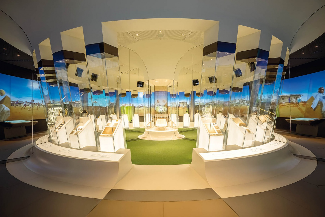 FIFA Museum Ladenbau