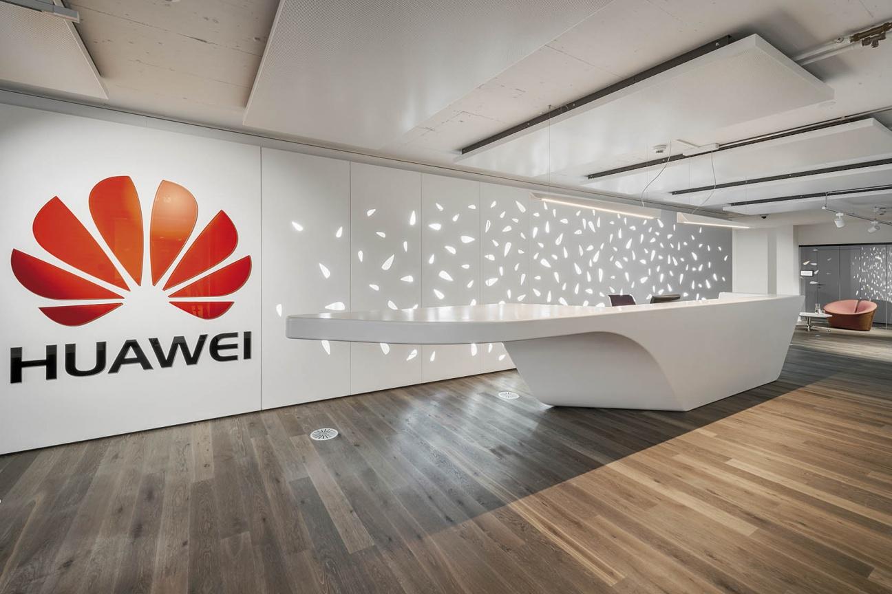 Empfangstresen für Huawei