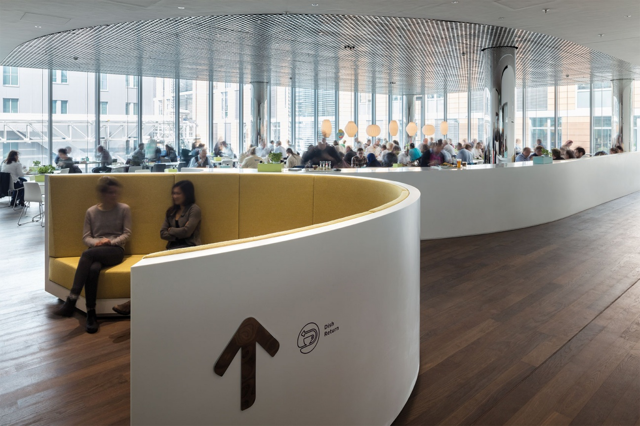 Loungebereich für Mitarbeiter