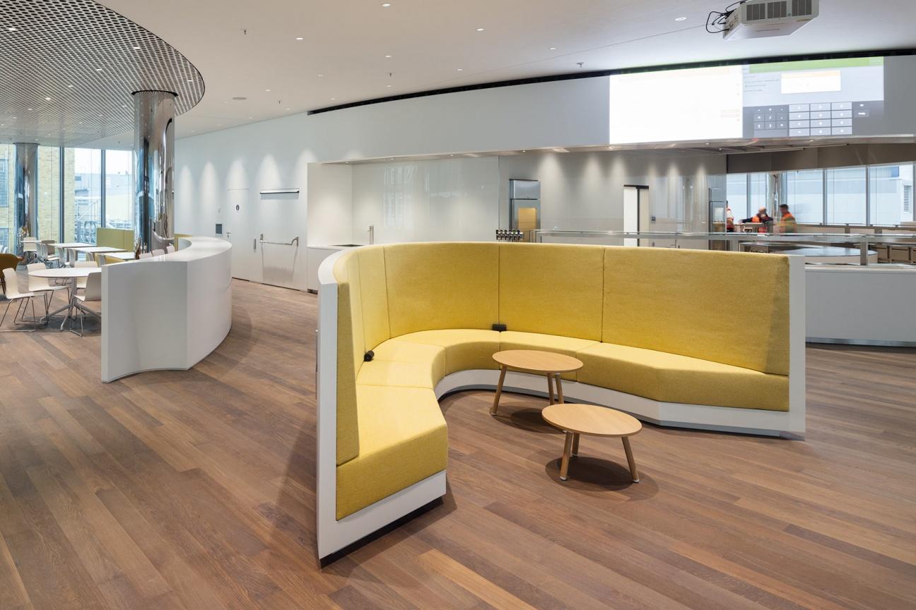 Sitzmöbel im Merck Innovation Center