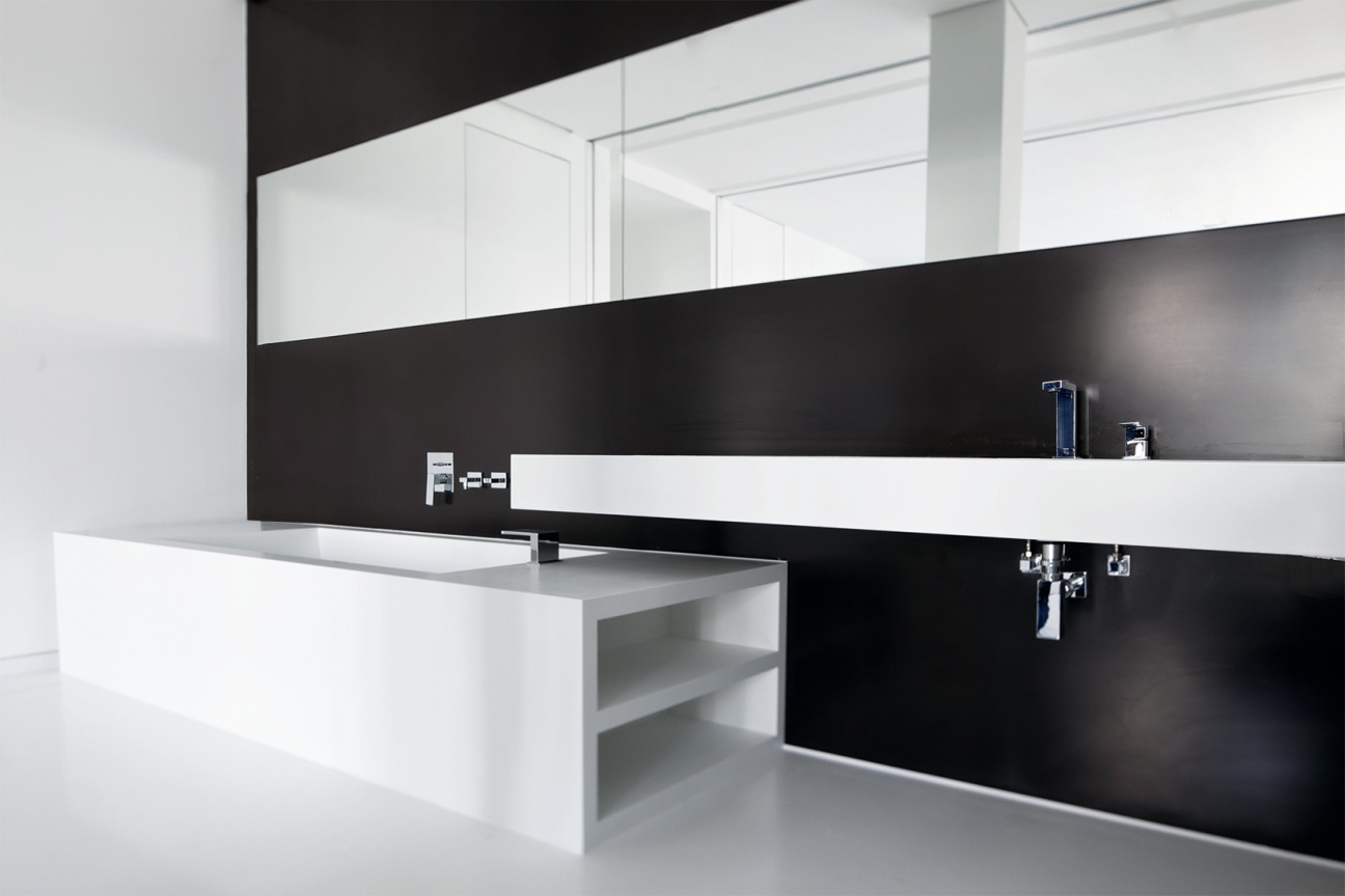 waschtische waschbecken aus corian hasenkopf. Black Bedroom Furniture Sets. Home Design Ideas