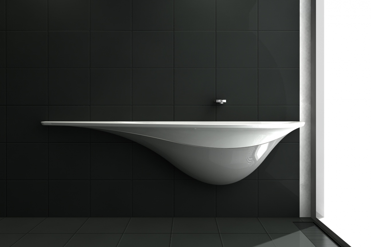 Corian waschtisch von veech x veech hasenkopf for Design waschtisch