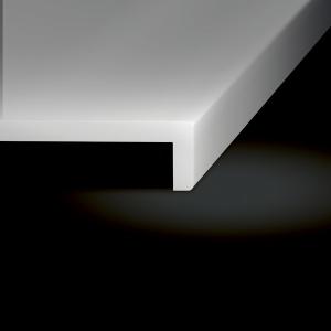 Corian Dusche Normalkante