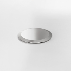 Ablaufgarnitur Standard: Chrom
