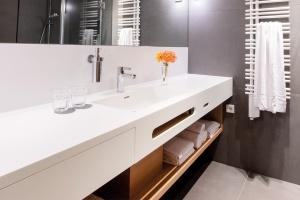 Waschtisch im Hotel Thalmair