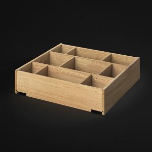 Schublade mit variabler Einteilung