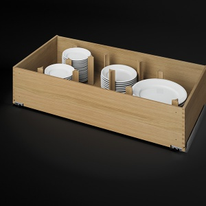 k chenschublade mit einteilungen eins tze hasenkopf. Black Bedroom Furniture Sets. Home Design Ideas