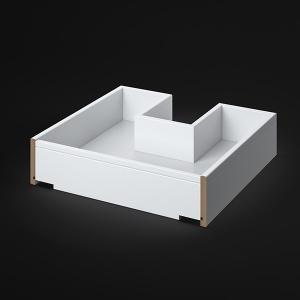 Schublade mit Siphonausschnitt