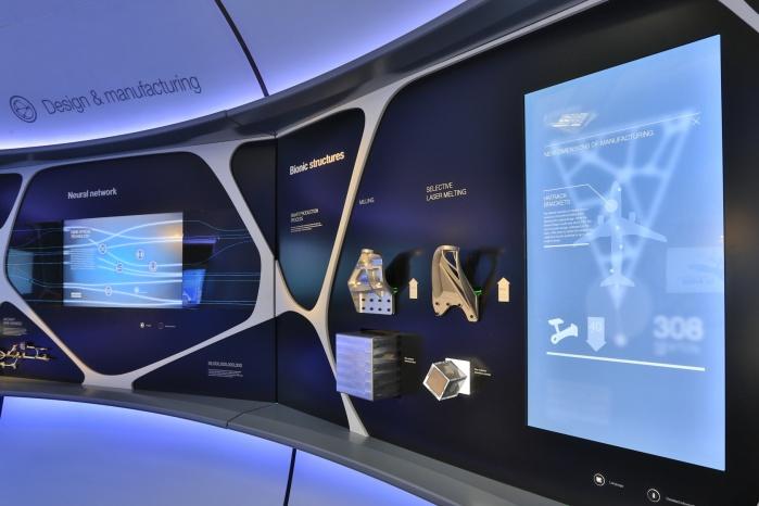 Hasenkopf Projekt Airbus Corian-Showcase