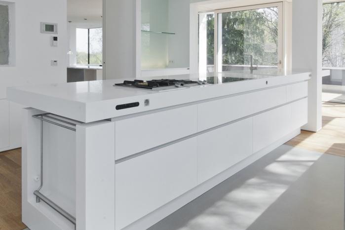 Küchen-Arbeitsfläche aus Corian für Abenschein