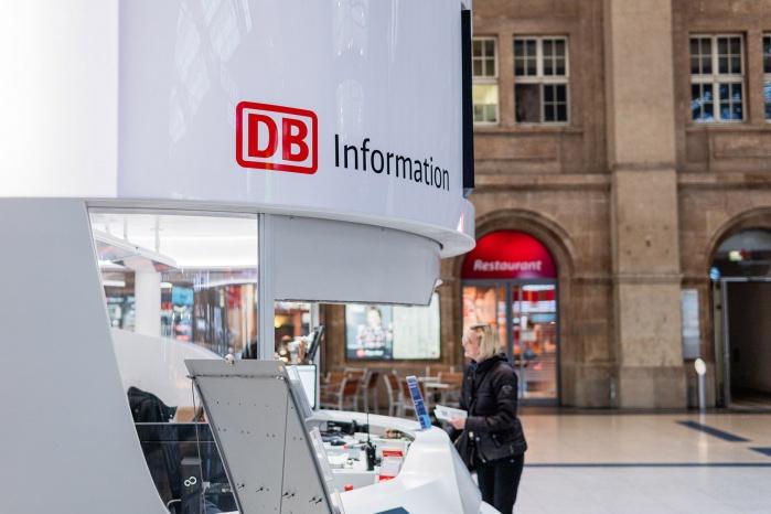 Deutsche Bahn Corian Besucher
