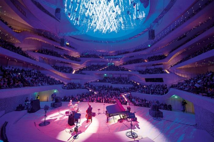 Testkonzert in der Hamburger Elbphilharmonie