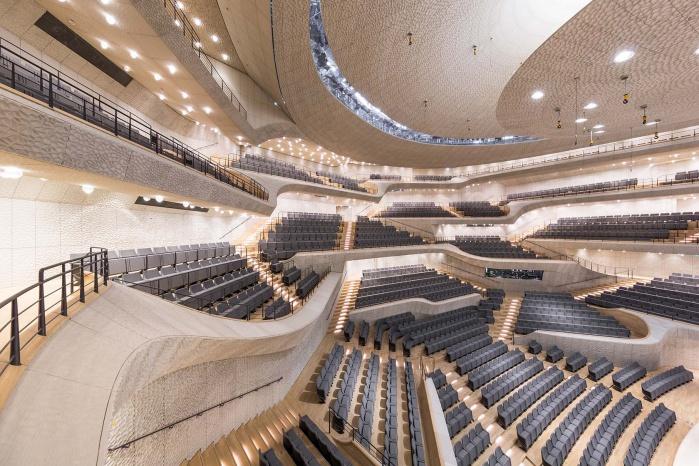 Elbphilharmonie Hamburg Wei 223 E Haut Hasenkopf