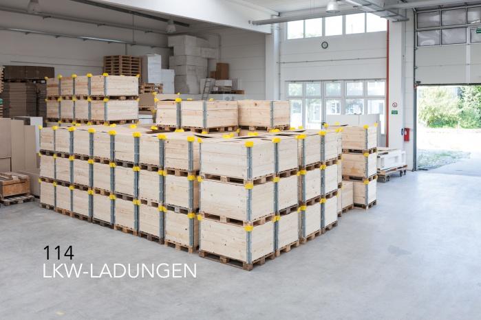 LKW Ladungen für Elbphilharmonie