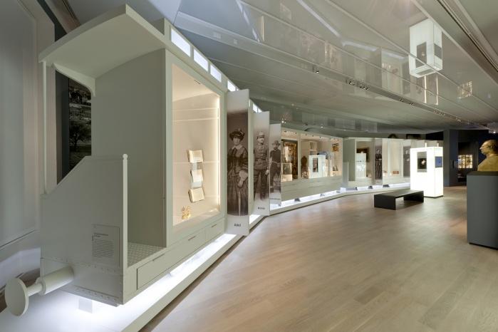 Hasenkopf Projekt Corian-Elemente im Landesmuseum Württemberg