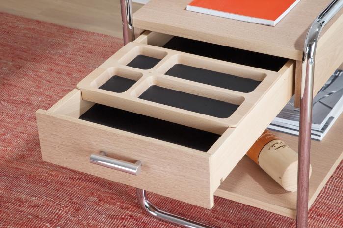 Hasenkopf Schubladen für Schreibtisch Thonet S 285