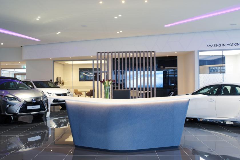 Showroom Lexus