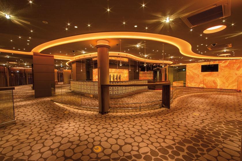 Corian-Theke mit Frescata für Casinos Austria Zell am See