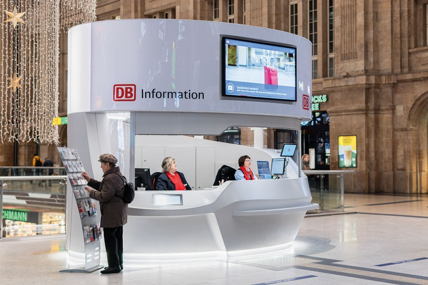 DB Infocounter Solid Surface