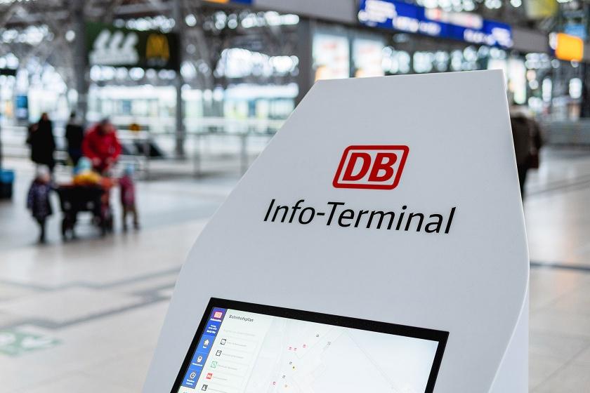 Deutsche Bahn Selbstbedienungsterminal