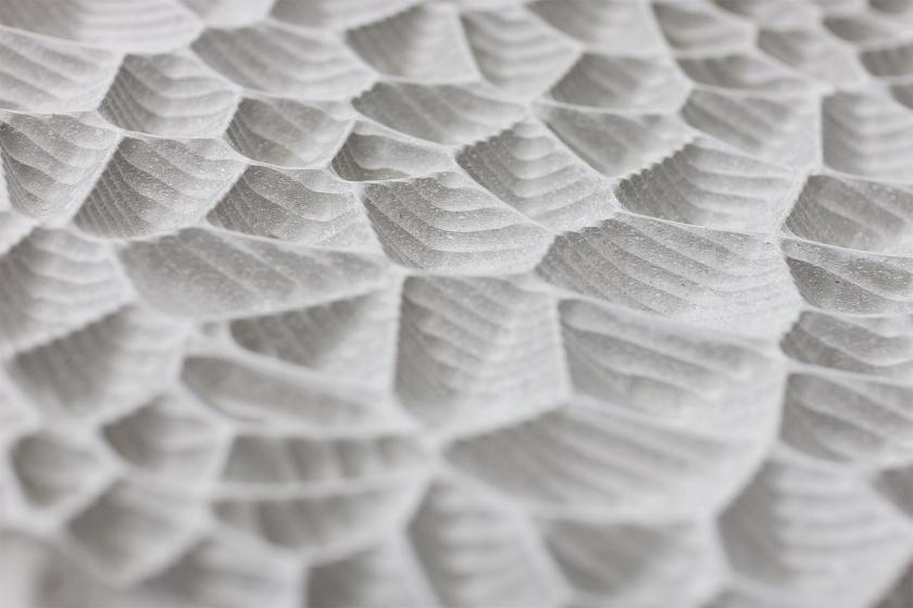 Weisse Haut Struktur