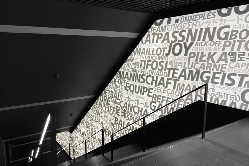FIFA Museum Fussball-Wandverkleidung