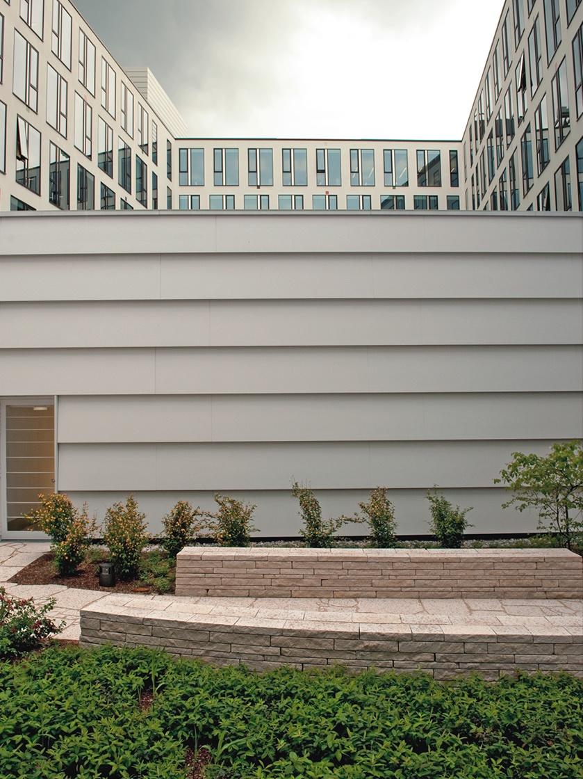 Hasenkopf Projekt Corian Fassade in München