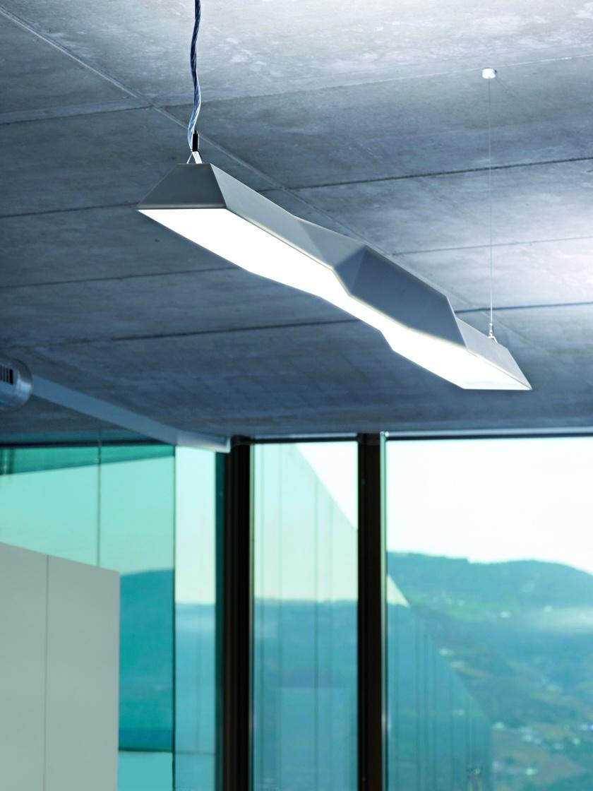 Salewa Licht-Design mit Corian Lampenschirm