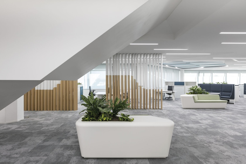 Sitzbank aus Solid Surface Material